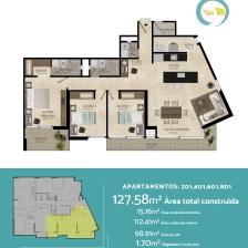 Apartamento en el sector Los Alpes de Pereira