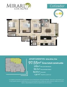 Compra Apartamento en el sector Los Alpes, Pereira