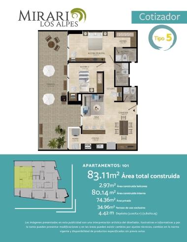 Compra Apartamento Pereira Alpes